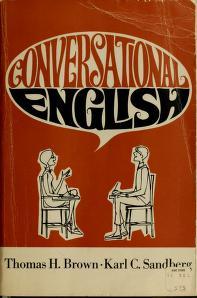 Cover of: Conversational English   Thomas Harold Brown