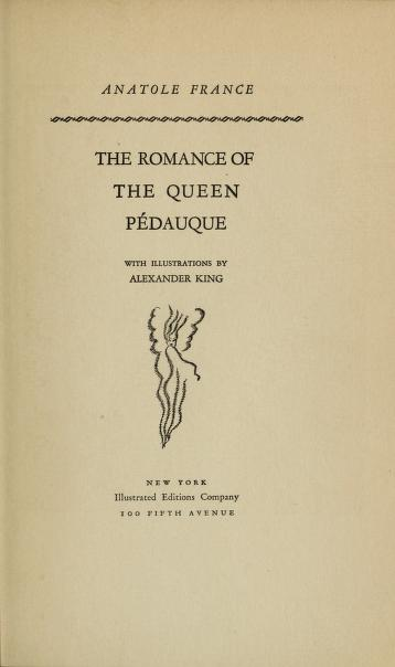 Cover of: The romance of the Queen Pédauque | Anatole France